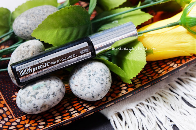 review maybelline brow precise fiber volumizer
