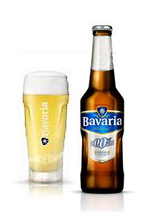 Bavaria Wit 0,0%, una cerveza sin alcohol de trigo.