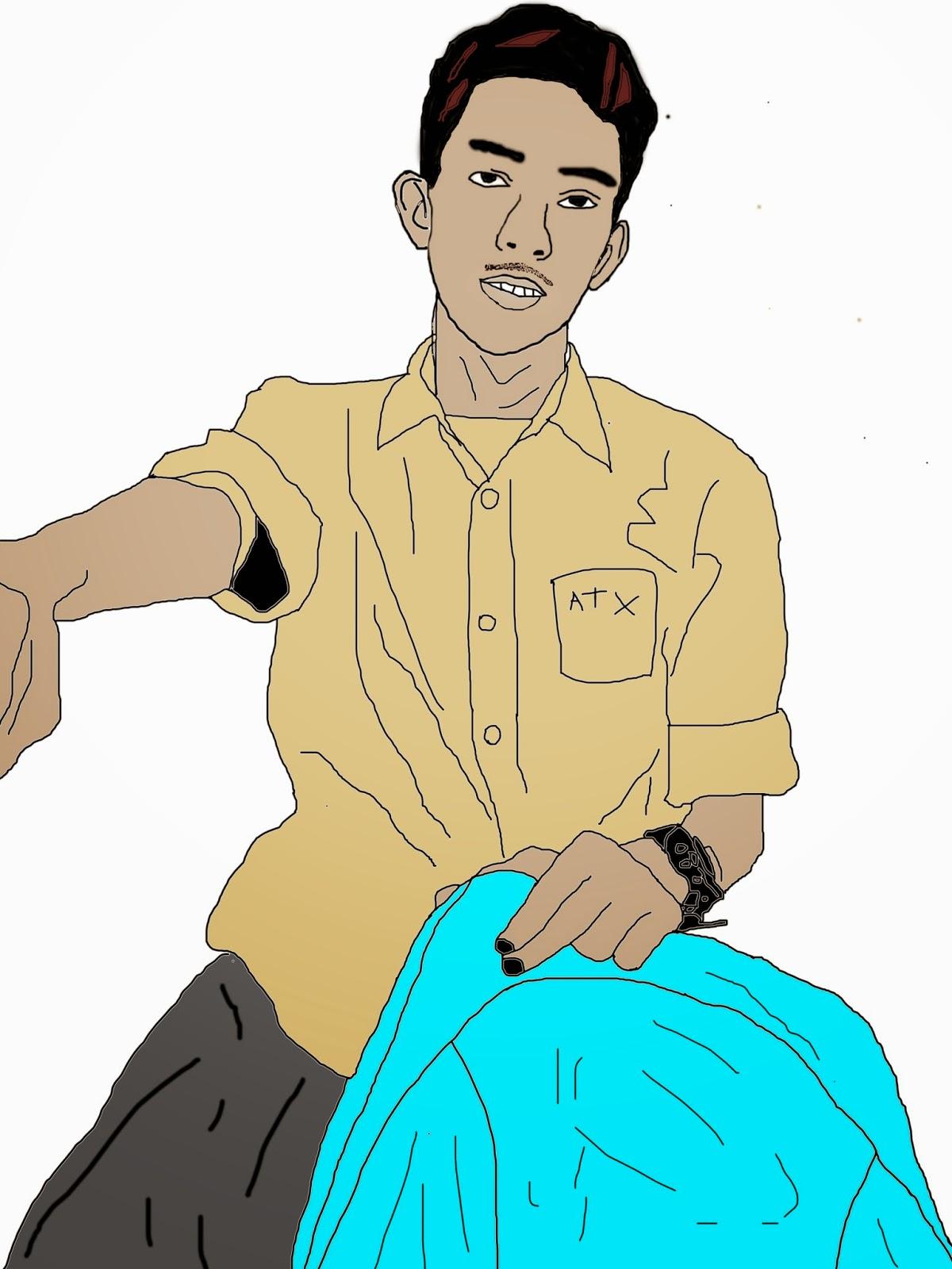Gambar Kartun Muslim Lelaki Gambar Kartun