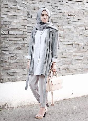 Gamis Muslimah Big Size Referensi Model Baju Kerja Hijabers Yang