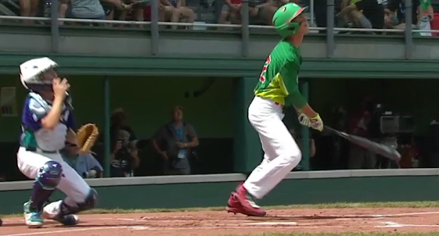 Mexico LLWS Andre Gaza monster home run