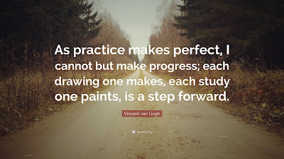 Saying Practice Makes Perfect