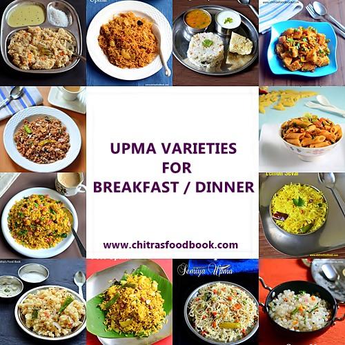 Upma varieties
