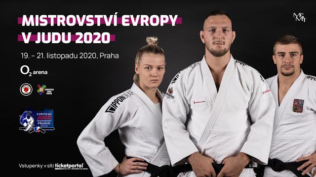 Campeonato de Europa 2020 (Praga, República Checa) - Bronces para Fran Garrigós y Estrella López