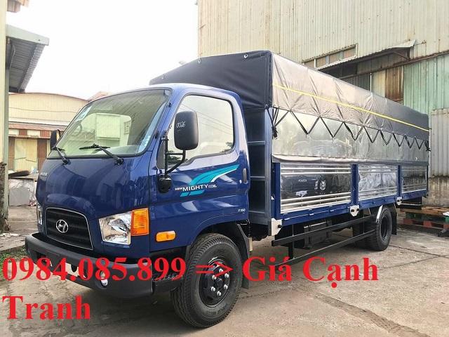 Giá lăn bánh xe tải HD110XL thùng bạt