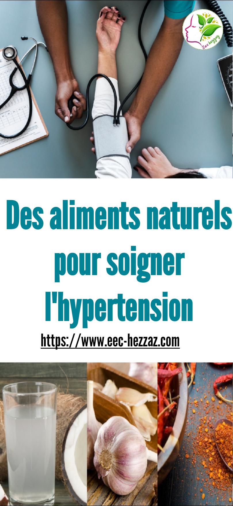 Des aliments naturels pour soigner l'hypertension