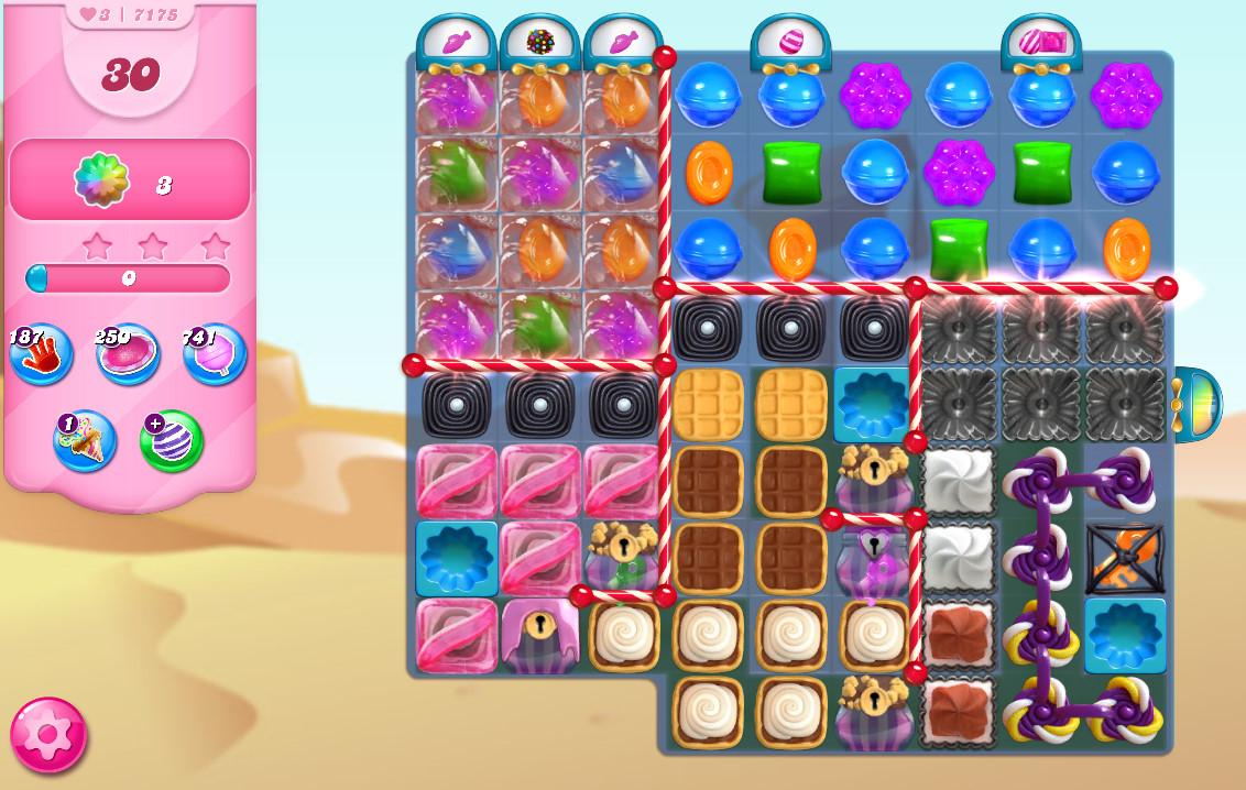 Candy Crush Saga level 7175