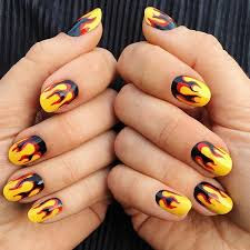 Nails of fire