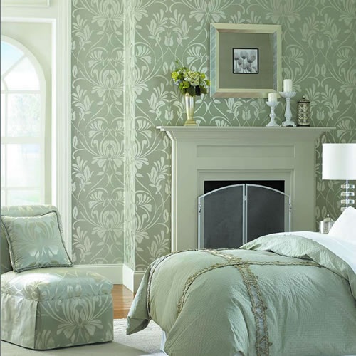 Candice Olson Traditional Living Rooms: Candice Olson Bedroom Wallpaper Collection 2011