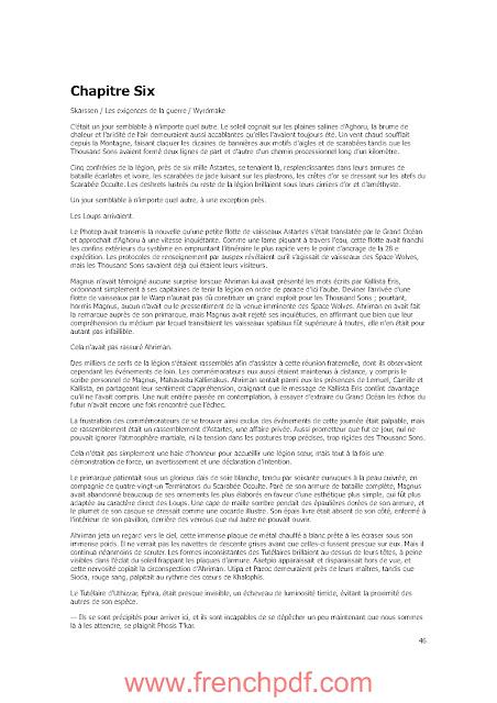 Roman: Un millier de fils de Graham McNeil PDF Gratuit