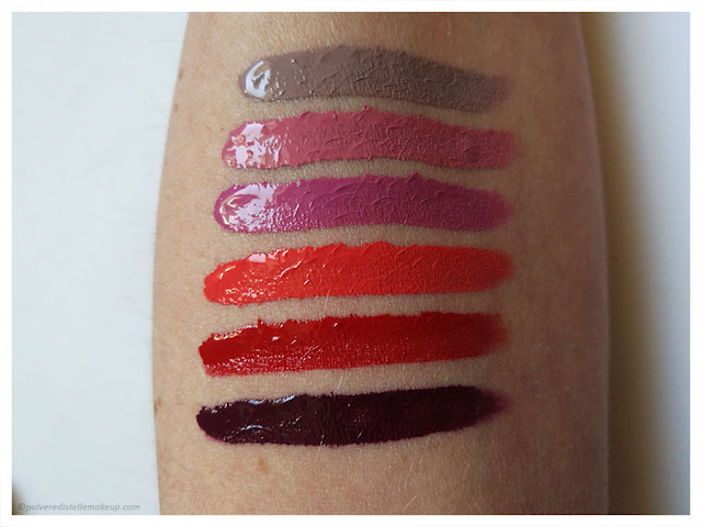Paint4lips PaolaP MakeUp swatches