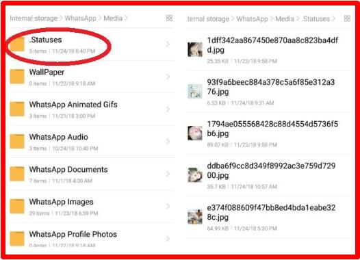 Cara Paling Tepat Untuk Menyimpan Foto Video Status Whatsapp Tanpa Aplikasi