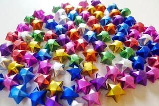mua ngôi sao giấy xếp sẵn tại tphcm