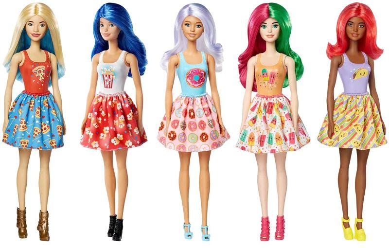 Simple Barbie dolls with color change surprise