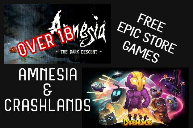 free amnesia and crashlands