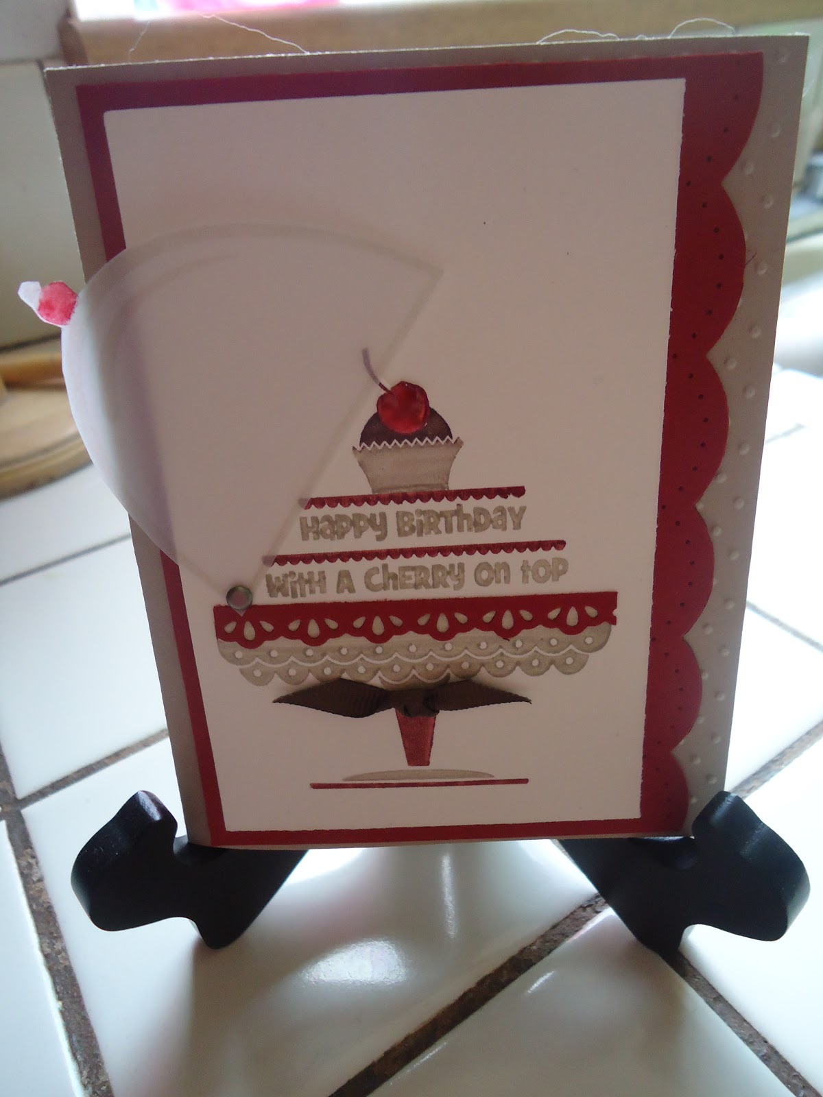 """Stampin with Sandi: Did someone say, """"With a Cherry on Top?"""" - photo#43"""