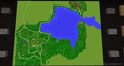 minecraft hobbiton build map bag end aerial