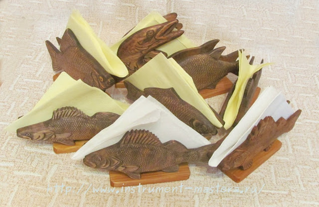 салфетницы из дерева