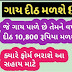 Cow Sahay Per Month 900rs By Gujarat Government