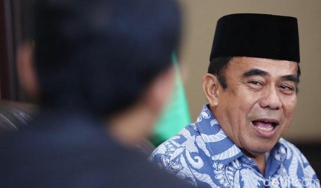 Menag Dorong Do'a dalam Ceramah di Masjid Menggunakan Bahasa Indonesia