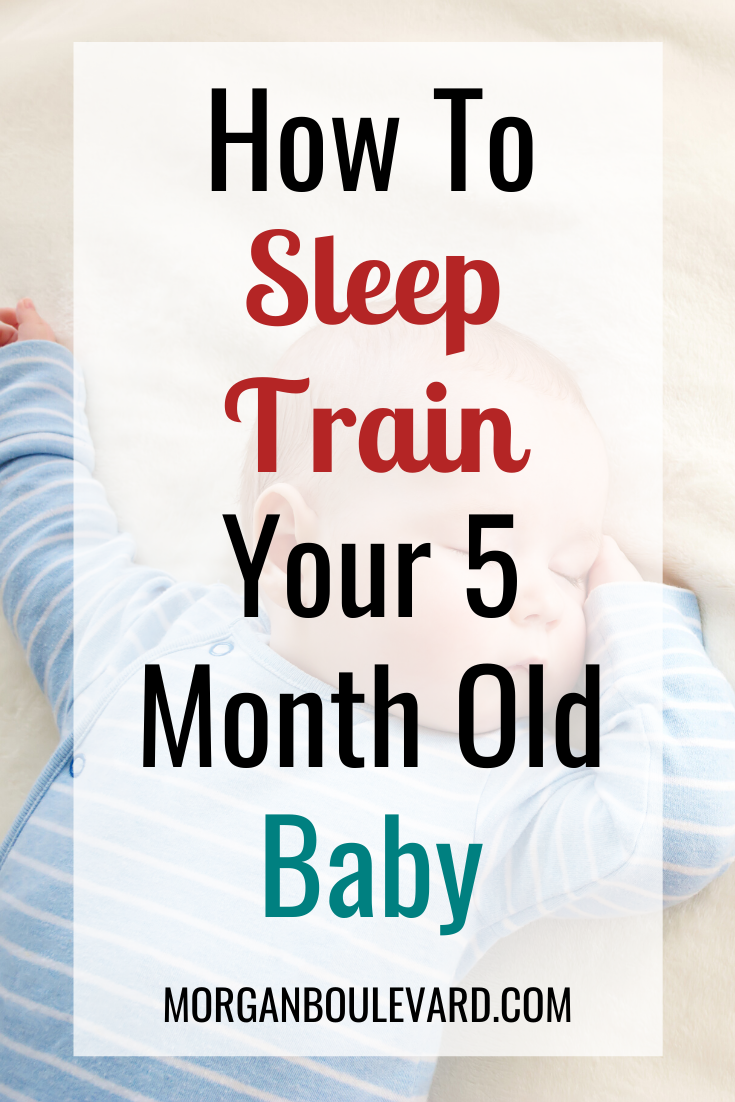 sleep training 5 month old