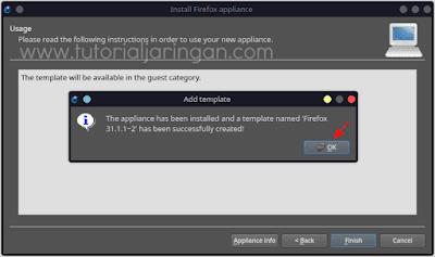 Tutorial Cara Install Appliance Firefox di GNS3