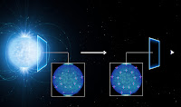 The polarisation of light emitted by a neutron star