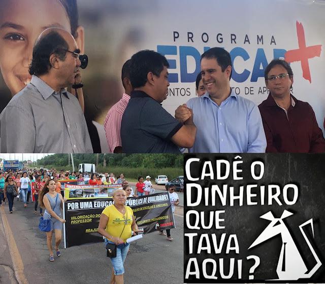 Prefeito de São Luís recebe R$ 12.606.757,49 para Desenvolvimento da Educação e não faz nada