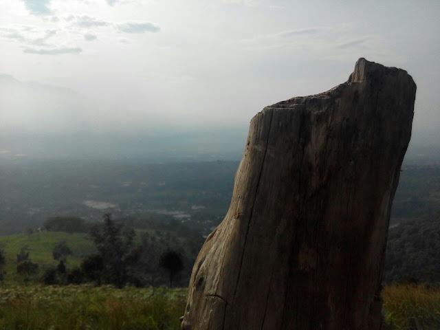 Pemandangan Cantik DI Bukit Alesano Bogor
