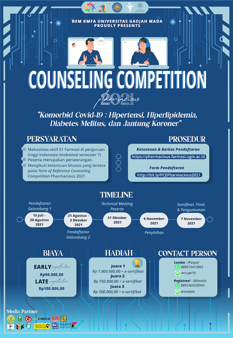 PHARMACIOUS UGM 2021: Counseling Competition