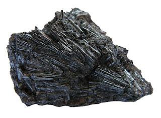 La cilindrita debe su nombre a su forma cristalina en forma de cilindro