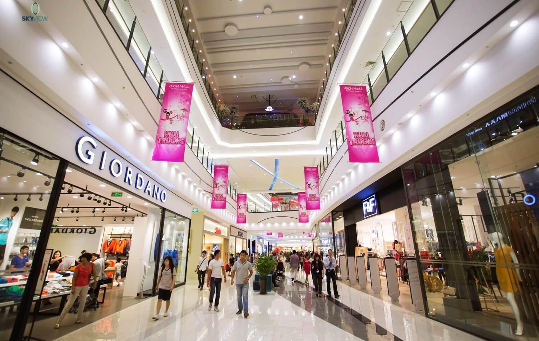 Thoả sức mua sắm tại siêu thị Aeon Mall Hoàng Mai