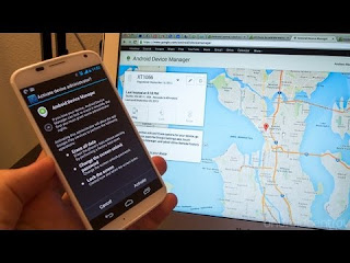 Use android device manager to unlock phone