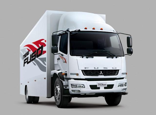 gambar truk fuso fighter putih terbaru