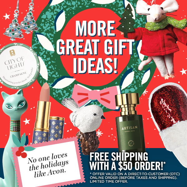 Get your gift list ready! Holiday shopping has never been easier.
