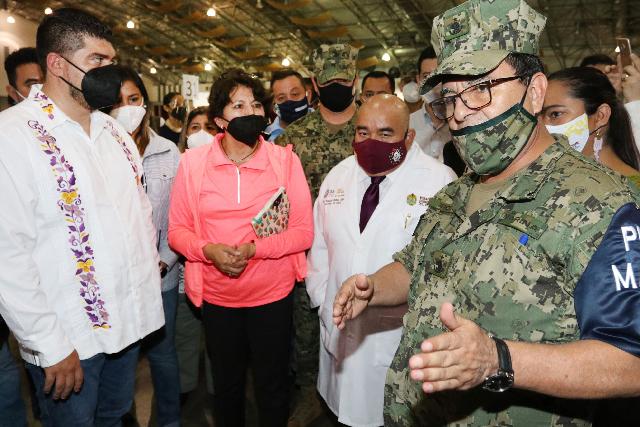 Supervisa, titular de SEP, inicio del proceso de vacunación a docentes, personal administrativo y de apoyo en Veracruz