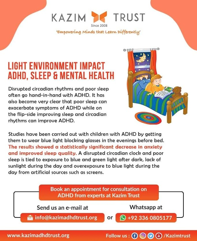 How Does Your Light Environment Impact ADHD Sleep & Mental Health