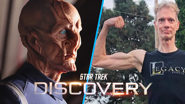 Doug Jones si prepara ad essere ancora una volta Saru in Star Trek: Discovery