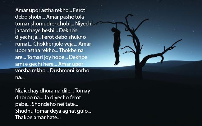 Bangla Kobitar Bhandar: Astha Rekho Amar Upor