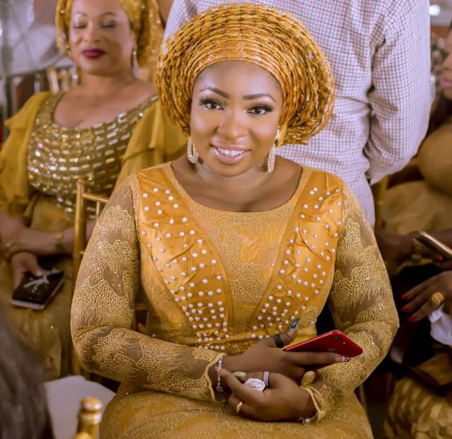 ''I Hardly Repeat Clothes'' - Actress Anita Joseph Looks Radiant In Owanbe Outfit