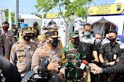 Kapolda Jateng Cek Pemeriksaan Arus Balik Lebaran di Gerbang Tol Kalikangkung