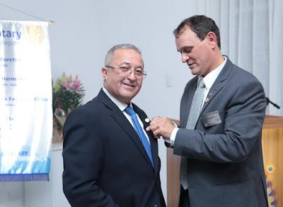 Rotary Club de Registro-SP empossa nova diretoria na noite da última quinta-feira (26)