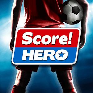 تحميل لعبة كرة القدم الممتعة Score! Hero النسخة المهكرة