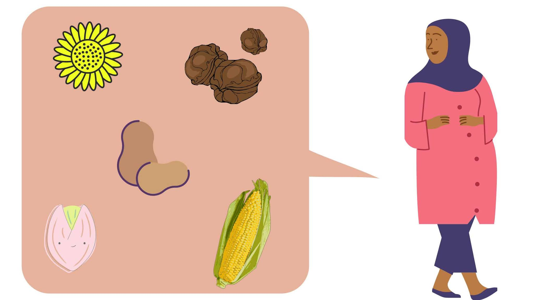 Ibu hami baik mengonsumsi vitamin E dalam kacang