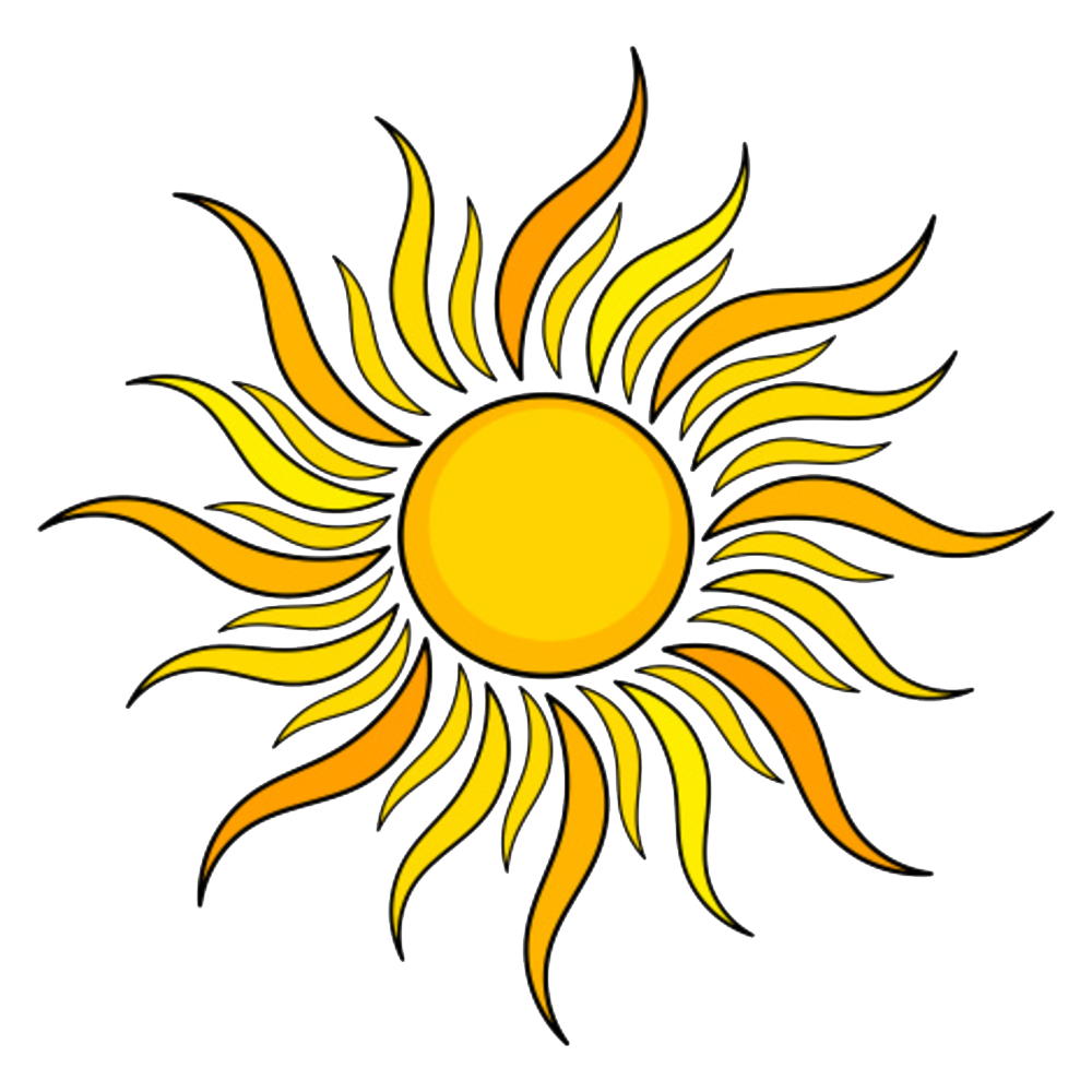 Sun PNG image with transparent background - PNG Sector