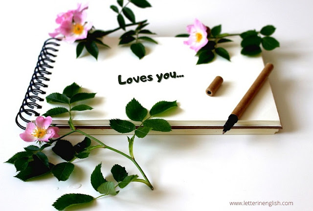 Sweet and emotional love letter