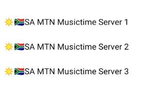 Music time server list