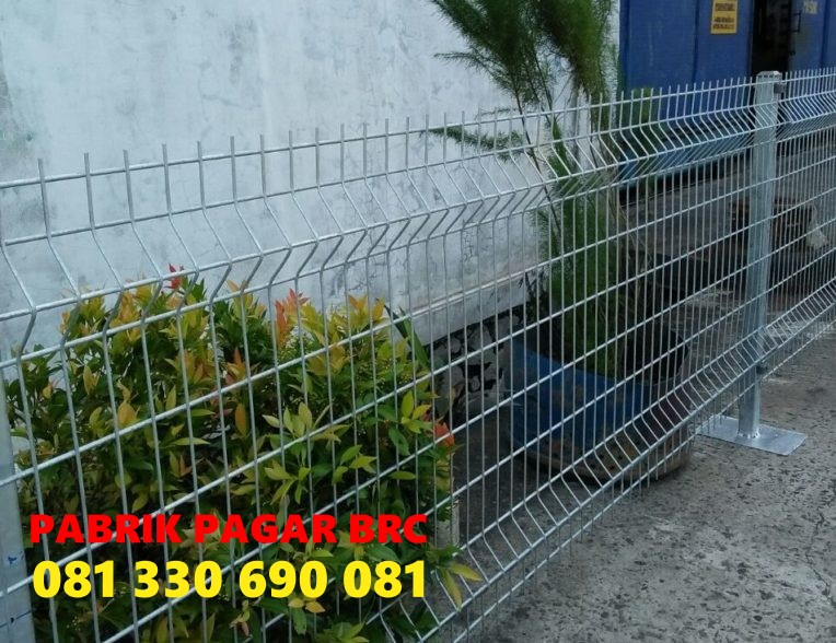 Produsen Pagar BRC Wire Mesh Kirim ke Konawe Sulawesi Tenggara