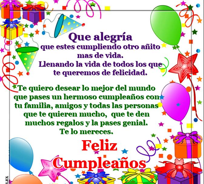 Frases Bonitas De Cumpleaños Para Compartir ツ Tarjetas De
