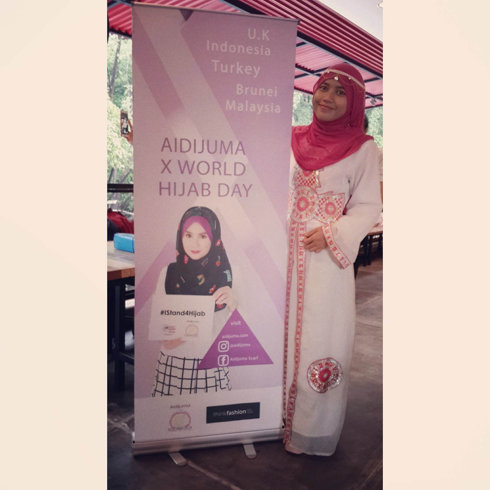 Aidijuma X World Hijab Day : Spread Love with Hijab - Man Jadda Wajada